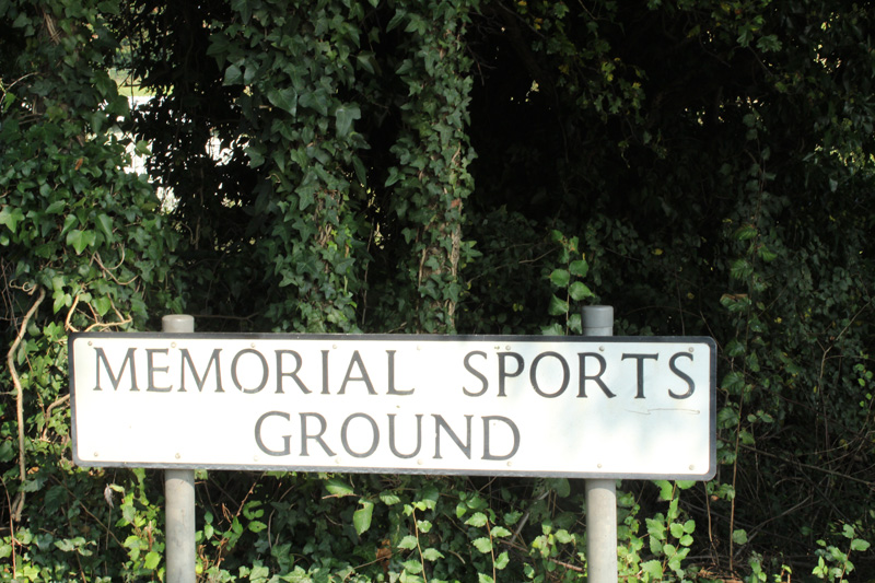 Bawtry Memorial Sports Ground Sign